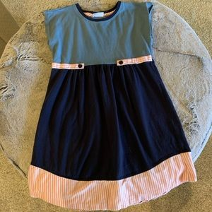Hanna Andersson Dress — Like New — Size 140 (10)